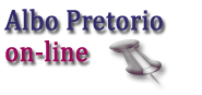 ALBO PRETORIO - ON LINE